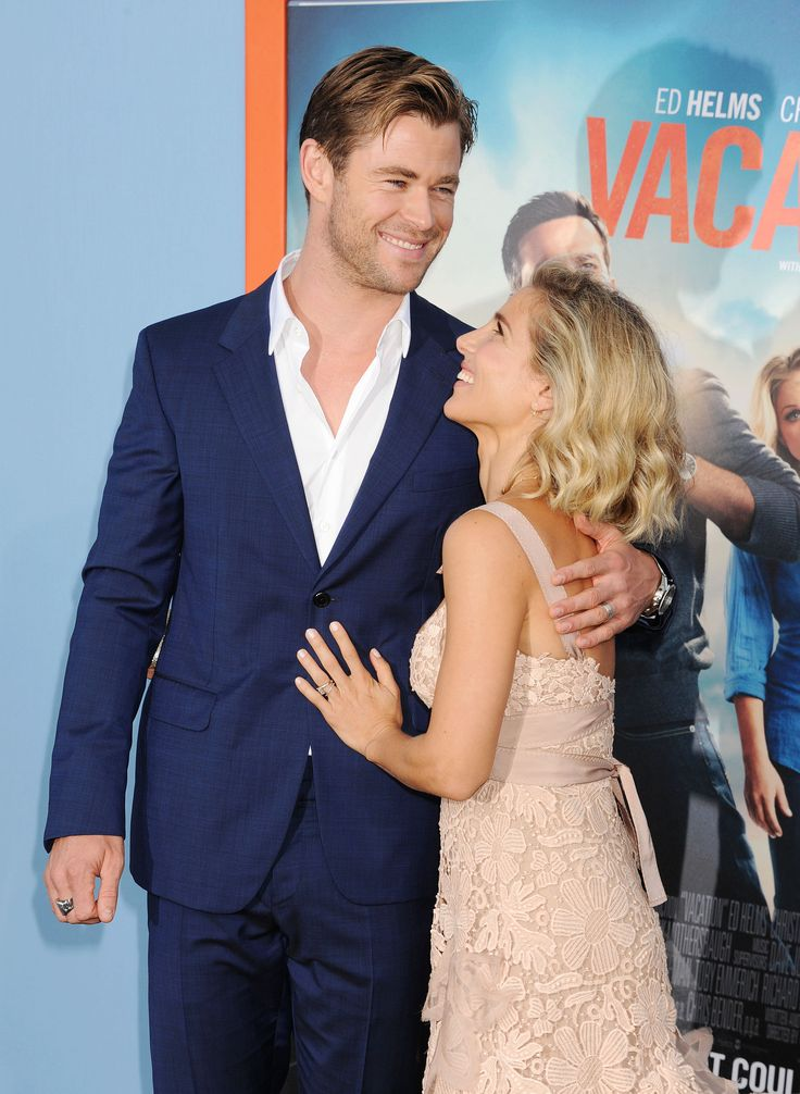Hot Couple Chris Hemsworth and Elsa Pataky Have Crazy Chemistry on the Red Carpet. #celebritycouples