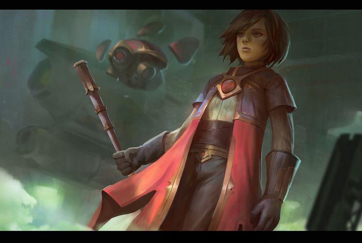 ArtStation - red faction, hendry iwanaga