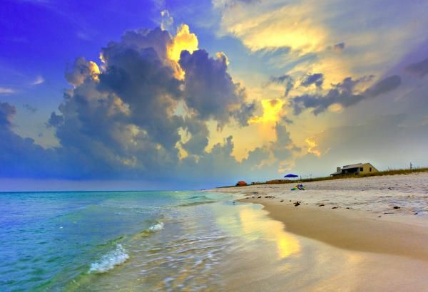 Watercolor, Florida. Glorious.