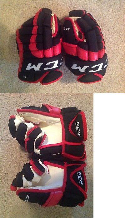 Gloves 20853: Pro Stock Return Andrew Shaw Hockey Gloves 14 Ccm -> BUY IT NOW ONLY: $119 on eBay!