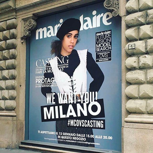 LAST CALL!!!  Il tuo sogno è fare la modella? Ti stiamo cercando insieme a OVS e Brave Models per il progetto MCMODELSEARCH. Se hai un'età compresa tra i 16 e i 30 anni presentati oggi nel negozio OVS di Via Dante11 a MILANO dalle 15 alle 20. Ti aspettiamo! non perdere questa occasione. #mcovscasting #ovs #bravemodels #mcmodelsearch #marieclaireitalia  via MARIE CLAIRE ITALIA MAGAZINE OFFICIAL INSTAGRAM - Celebrity  Fashion  Haute Couture  Advertising  Culture  Beauty  Editorial Photography…