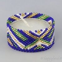 Le gioie di Happyland - patterns: Tealight cover