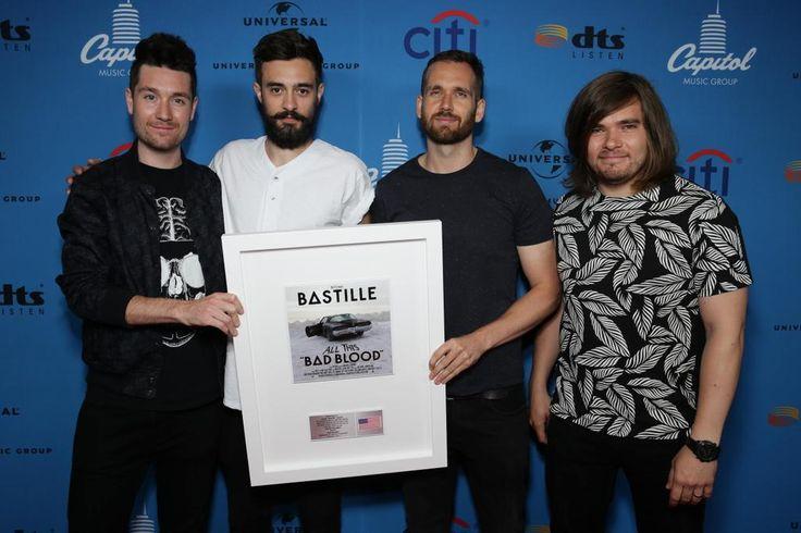 Virgin Records on Twitter 8.11.2015 Congrats to @bastilledan for an incredible #BastilleAmerica journey thus far! 8M singles + 1.5M albums sold - MAJOR!
