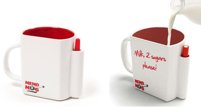 Dry Wipe Memo Mug by Luckies of London http://coolpile.com/home-stuff-magazine/dry-wipe-memo-mug-luckies-london/ via coolpile.com by @Luckies Of London Of London  #Amazon #Coffee #Cool #Gifts #Kitchen #Morning #Mugs #coolpile