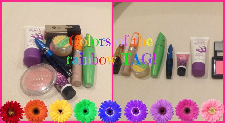COLORS OF THE RAINBOW TAG!