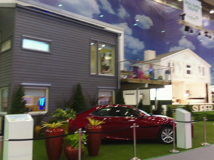 Low Cost Living House styled by Sophie Wyatt. Ideal Home Show March 2013.
