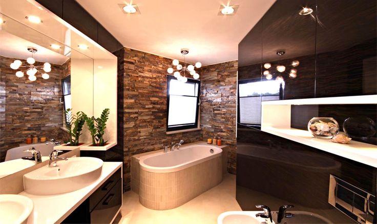 Nowoczesna łazienka z wanną wolnostojącą