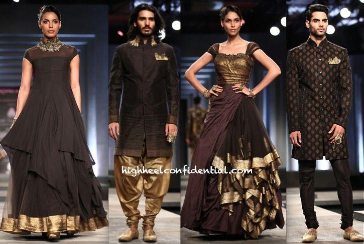 Shantanu & Nikhil at India Bridal Fashion Week 2013 | for more inspiration visit www.shaadibelles.com