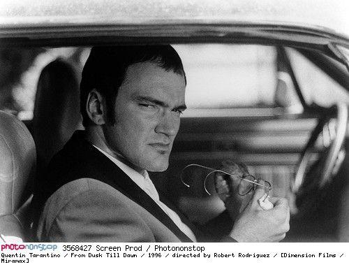 Quentin Tarantino / From Dusk Till Dawn / 1996 / directed by Robert Rodriguez / [Dimension Films / Miramax] --  1996 From Dusk Till Dawn  Quentin Tarantino Road Robert Rodriguez