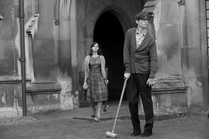 """Eddie Redmayne y Felicity Jones en """"La teoría del todo"""", de James Marsh (2014)."""