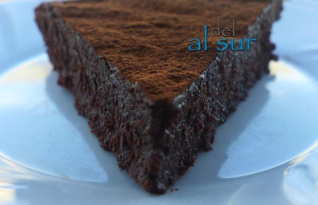 Alsurdelsur: Tarta fácil de chocolate de Donna Hay