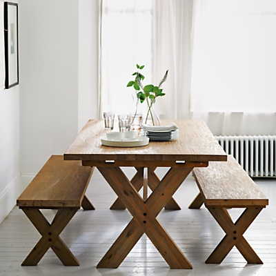 John Lewis Cove Dining Table And Bench