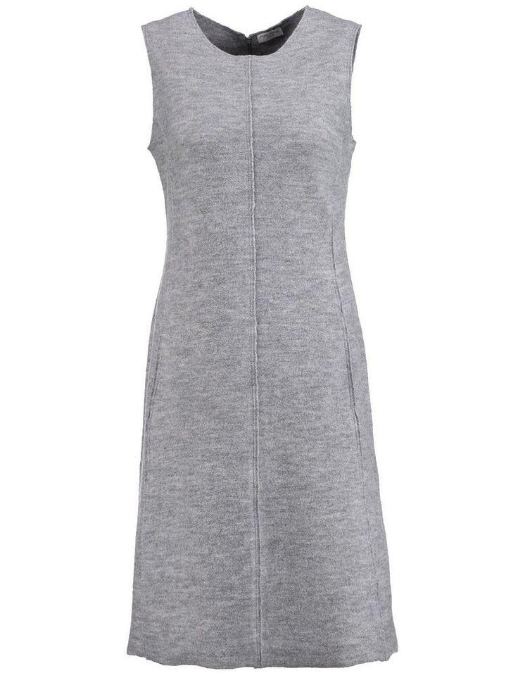#Gerry #Weber #Damen #Gerry #Weber #Kleid #Strick #�Kleid aus #gekochter #Wolle #� #grau Kleid Strick Kleid aus gekochter Wolle Ein echtes Trendhighlight ist dieses stylische Kleid aus gekochter Wolle mit offenen Schnittkanten, wirkungsvollen Längsnähten, seitlichen Schubtaschen, Rundhalsausschnitt und rückseitigem Reißverschluss. Ungefüttert. Vorderteillänge ab Schulter ca. 100 cm in Gr. 38. Material: Oberstoff: 100% Merinowolle <br /> Kleid Strick Kleid aus gekochter Wolle Ein echtes…