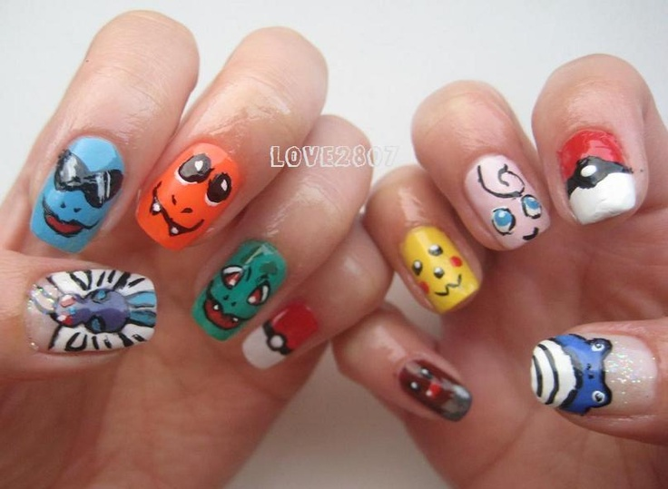 136 best Nerd nails images on Pinterest | Nail scissors, Nailart and ...