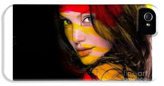 Angleina Jolie iPhone5 Case