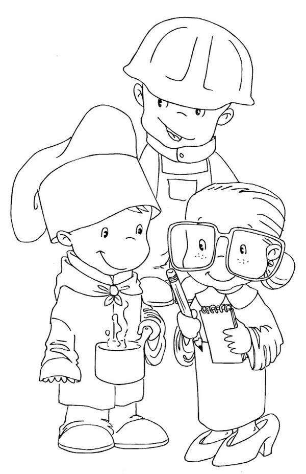 Labor Day Coloring Pages | Coloring pages, Coloring pages ...