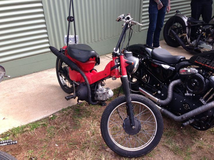 Postie Bike With Sissy Bar And T Bars Bobber Rat Postie Cars