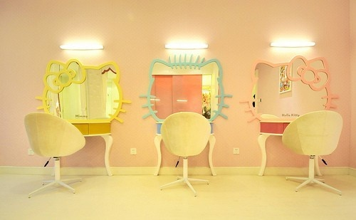 Nice for a hair salon design