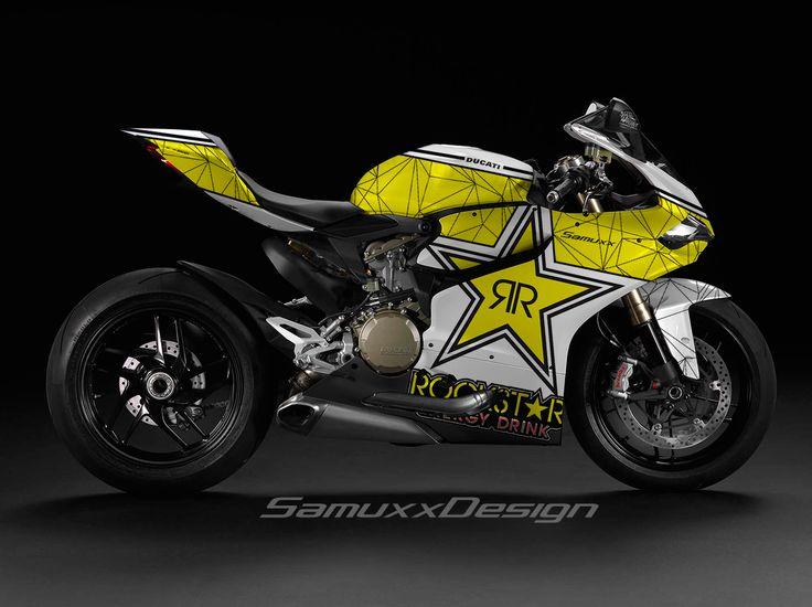 Ducati Panigale Rockstar Energy