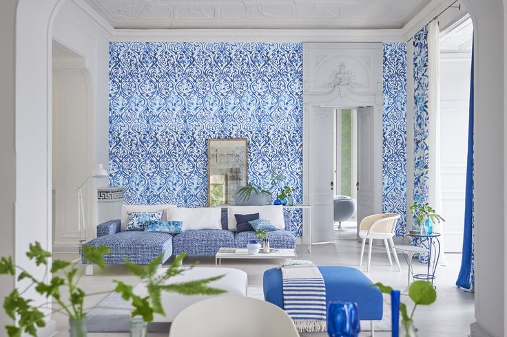 S|S '17 Fabrics & Wallpapers from Designers Guild