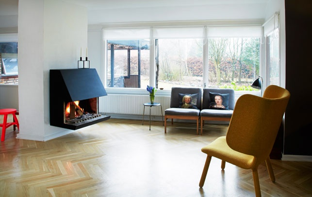 The Danish Magazine Alt for damerne visited Katrine at her home in Hørsholm. The feature was shown in the magazine in April.