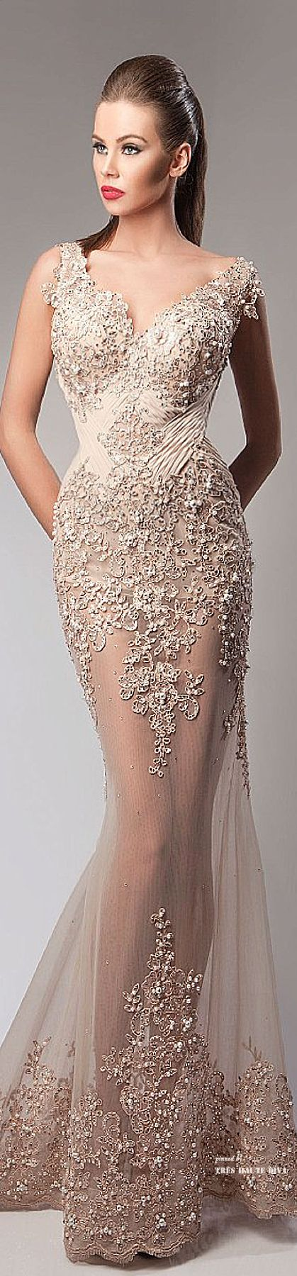 Hanna Toumajean Couture Fall Winter 2014-15 ♔ THD
