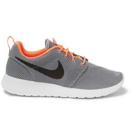 Nike Roshe Run Mesh Sneakers