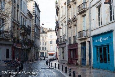 Bordeaux via del centro città