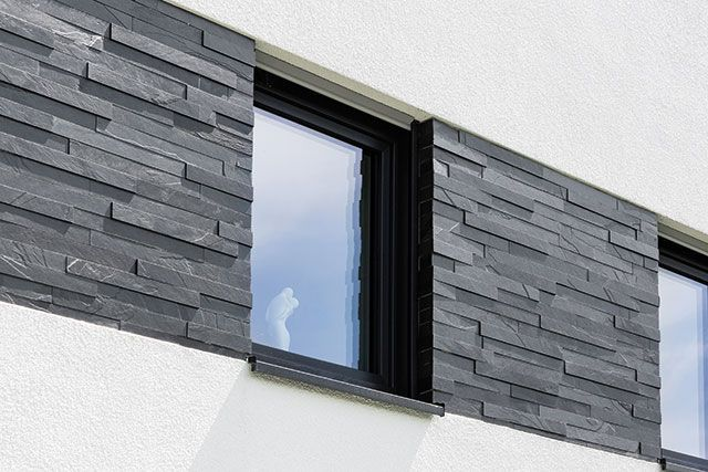 Neue Materialien Fur Die Fassade Die Fassade Fur Materialien Neue In 2020 Fassade Haus Fassade Putz Fassade