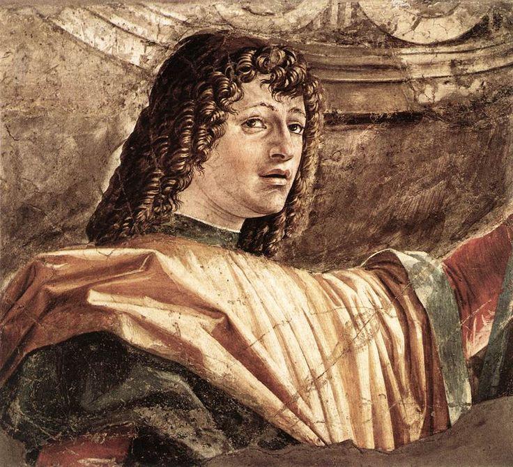Донато Браманте. Man with a Halbard (detail) c. 1481 Fresco transferred to canvas Pinacoteca di Brera, Milan.