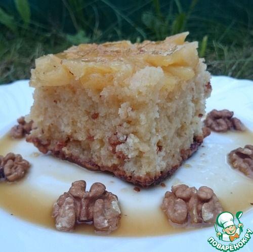 Пуэрториканский ромовый пирог с кусочками ананаса