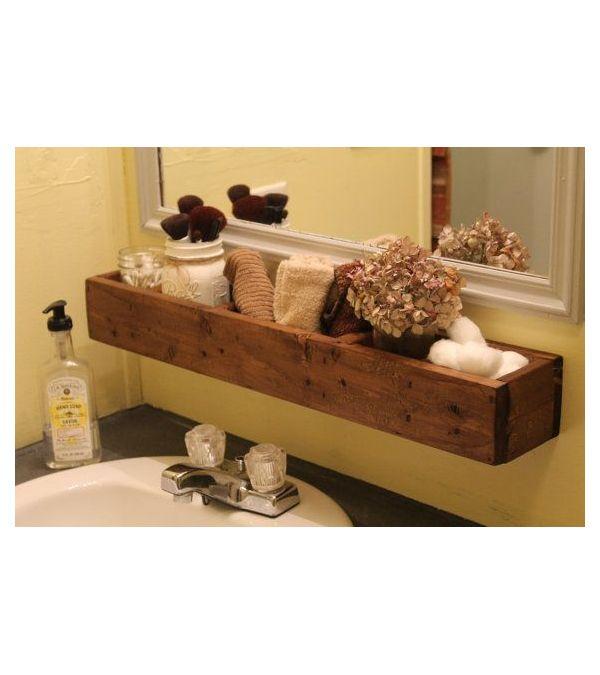 1000 idee su mensole da bagno su pinterest mensola da for Mensole legno naturale