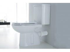 Disegno Ceramica Giulia:  Miska wc kompakt stojąca odpływ poziomy. Toilet compact set. Horizontal outlet.