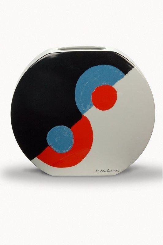 ¤ Vase hélice de Sonia Delaunay, porcelaine de Limoges, Haviland