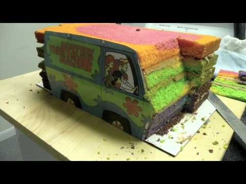 The Making of: A Scooby-Doo Cake(The Mystery Machine)