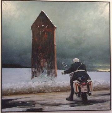 Aase Lind Art: Poul Anker Bech, danish painter