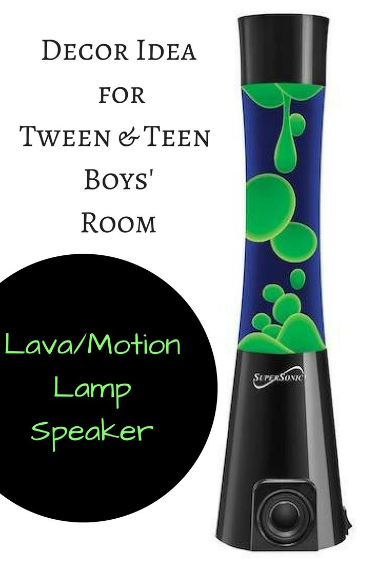 Lava Lamp / Motion Lamp with build in speaker. The perfect accessory to any Tween or Teen Boys room. Heck I think I even want one for my room. Do they come in Pink? #NordstromRack #affiliate #homedecor #teenboy #tweenboy #boysroom