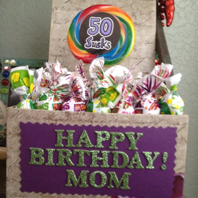 50th Birthday Idea! @O.B. Wellness Delibertis