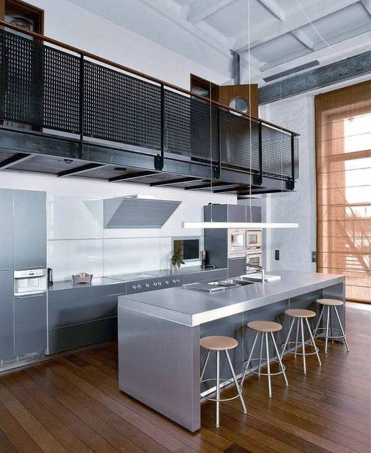 Industrial Home Design Spectacular Modern Industrial Home: Kitchen Designs For Small Homes