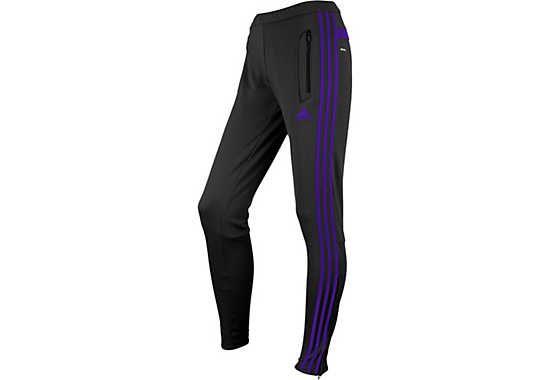 adidas Tiro 13 Womens Training Pants - Grey and Purple