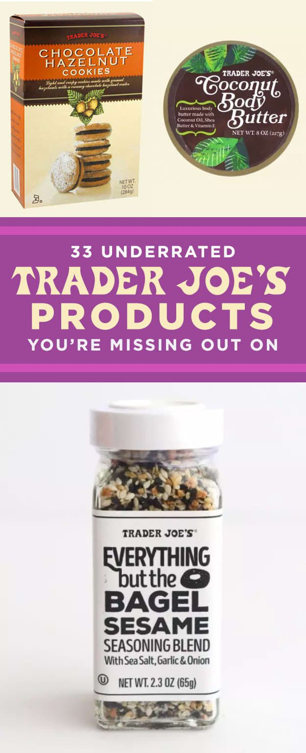 People Are Obsessed With These 33 Underrated Trader Joe's Products