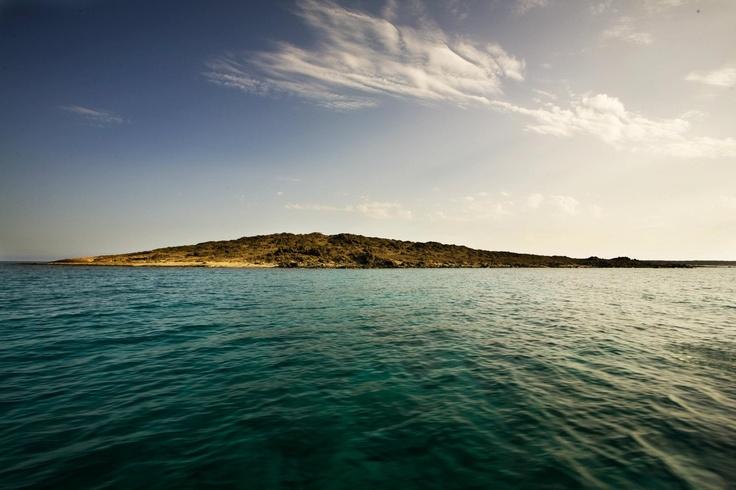 Travelling to the Chryssi in #Ierapetra. Ταξιδεύοντας προς τη Χρυσή.  Photo : Σετάκης Γρηγόρης ( CC-BY- ND )