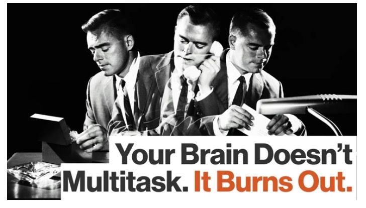You See For Good Results First Stop Multitasking  #multitasking #brain #health #living
