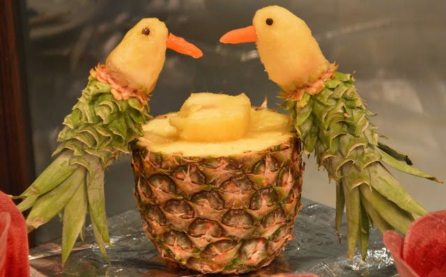 Best images about pineapple carving on pinterest