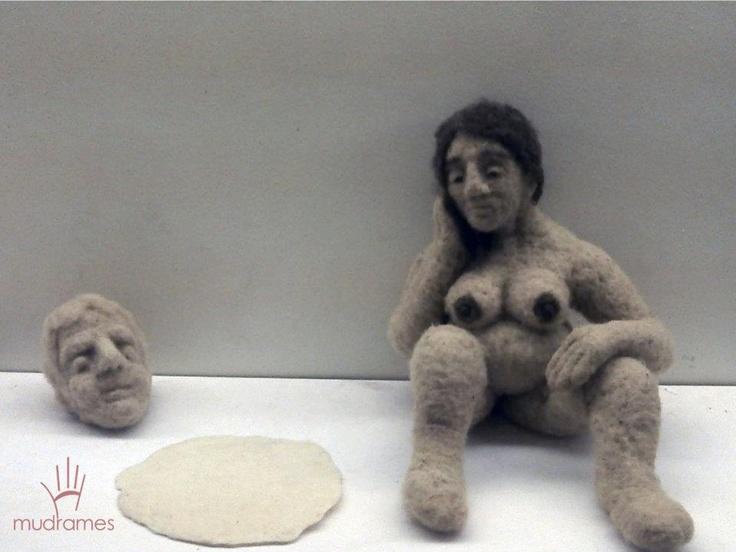 Maria Guadalupe -wool, h = 50cm