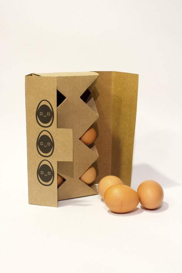 Eggs Packaging   Designed by Rafaela Abreu