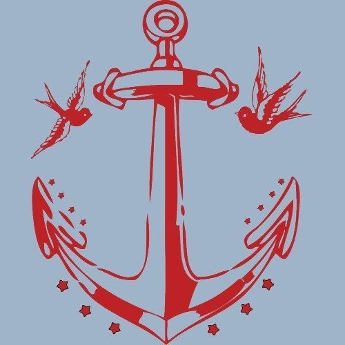 17 best ideas about anchor tattoos on pinterest anchor flower tattoos small anchor tattoos. Black Bedroom Furniture Sets. Home Design Ideas