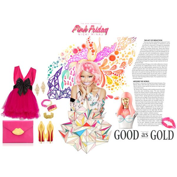 """Totally Fearless with Pink Friday Nicki Minaj"" by aninditaa on Polyvore"