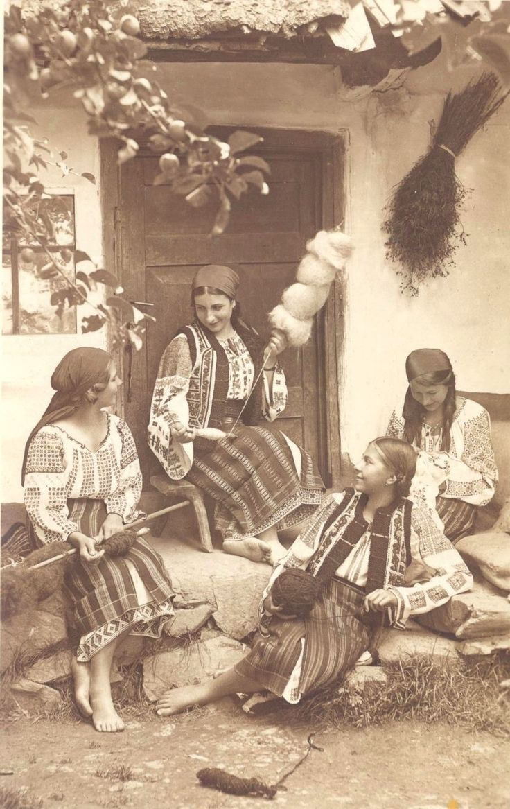 Moldavia Romania women people culture. ADOLPH CHEVALLIER. 1920's