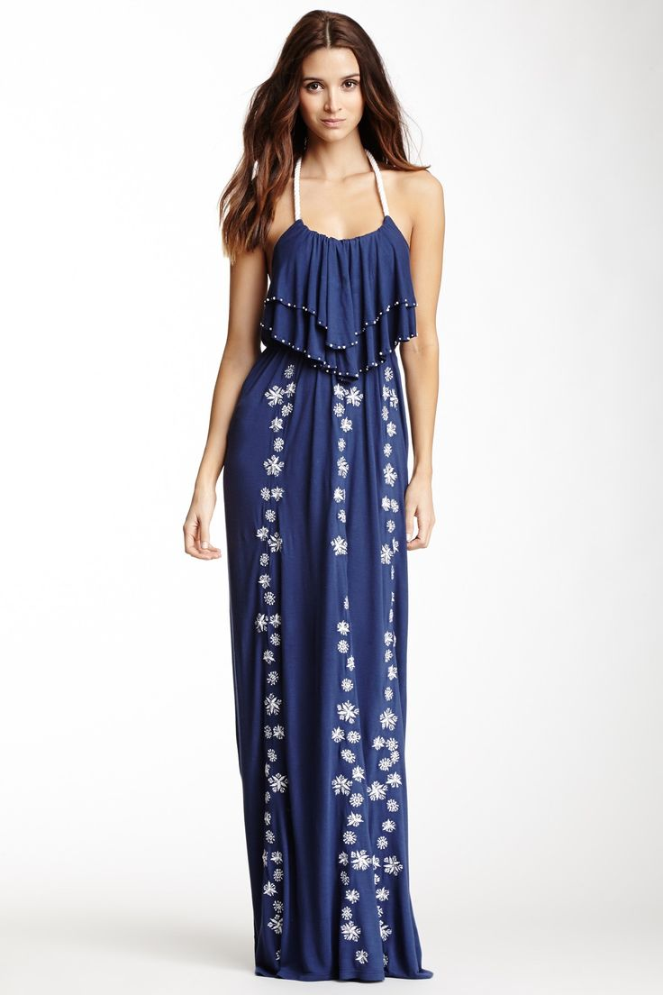 Letarte | Embroidered Maxi Dress